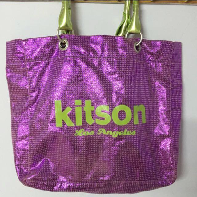 限時特價Kitson 紫色肩背