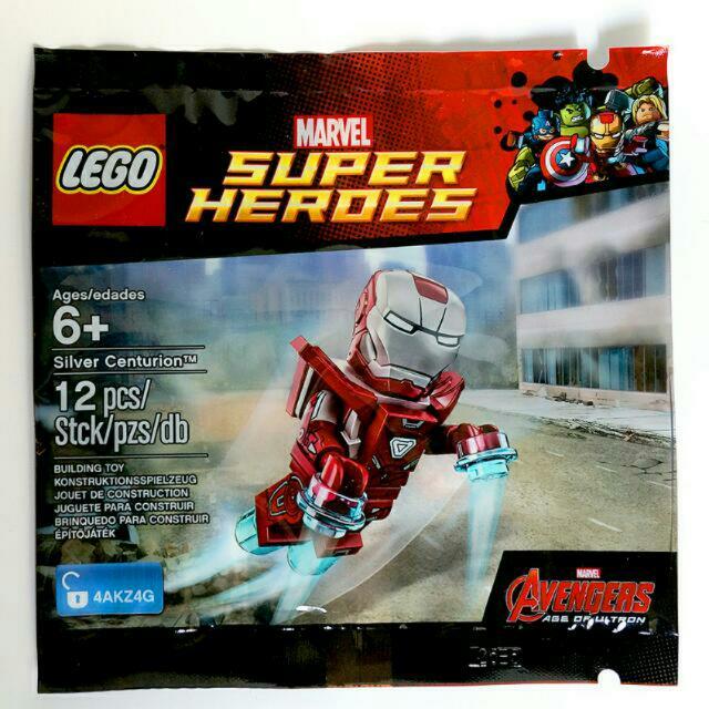LEGO 5002946 Silver Centurion Ironman Polybag