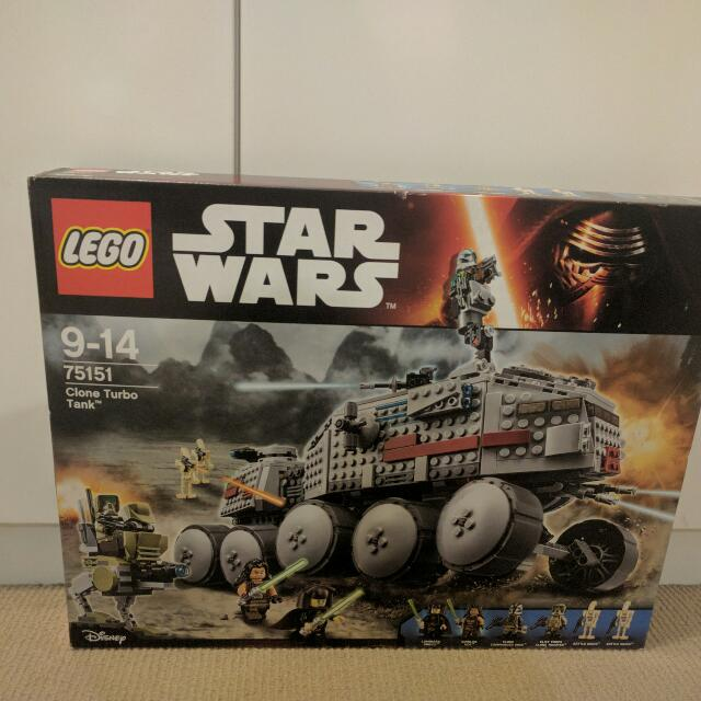 Lego Clone Turbo Tank 75151 Star Wars