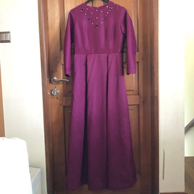 Long dress - Purple