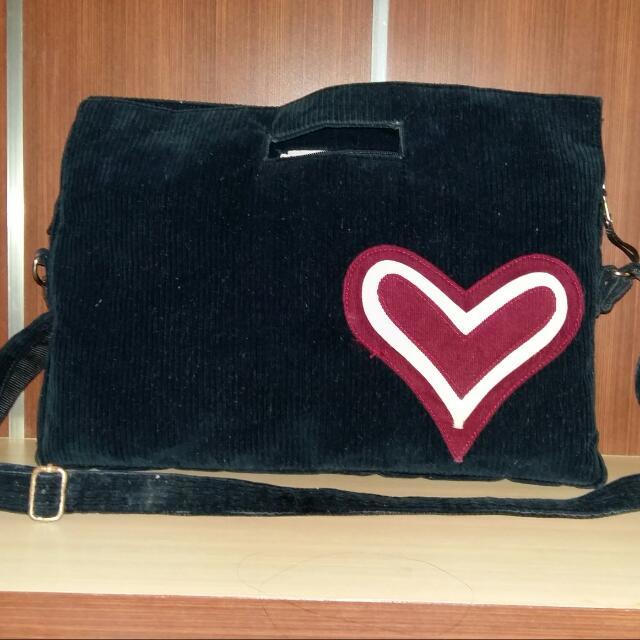 Luvly Black Bag