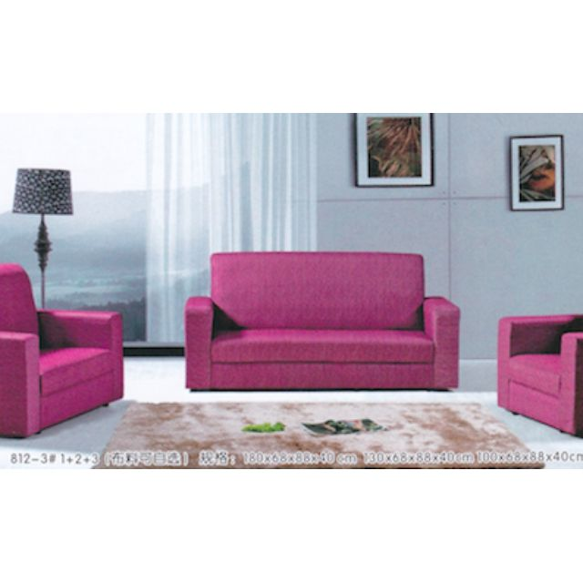 Luxe Designer Hot Pink Sofa (2Seater) *Wholesale Factory Price*, Home U0026  Furniture, Furniture, Sofas On Carousell