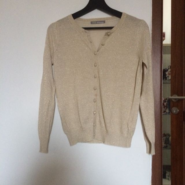 Marks Spencer Woman - Gold Mix Cardigan