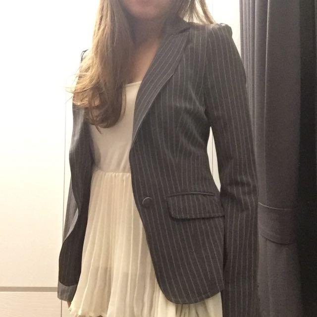 Miusa 網拍天后 修身窄肩西裝外套