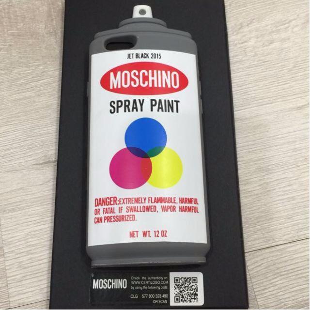 Moschino 鐵樂事 噴漆罐 手機殼 iPhone 6 iPhone6