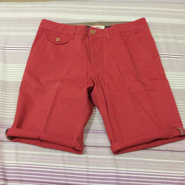 NEW BERSHKA SHORT CHINO