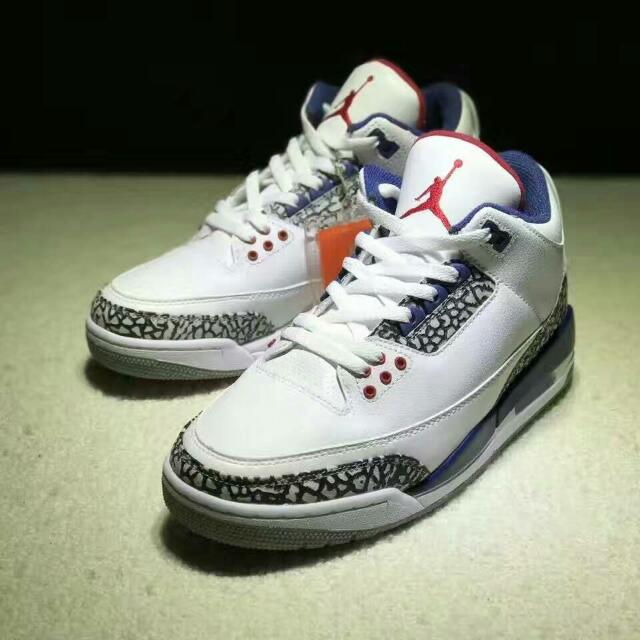 Nike Air Jordan 3 True Blue 29a07071bf2b5