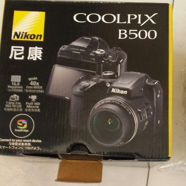 Nikon Coolpix B500 Brand New In Box, Electronics, Others on