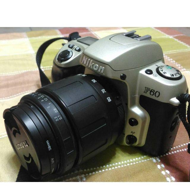 (待匯中)Nikon F60 底片古董 相機 收藏品 復古 道具 裝飾