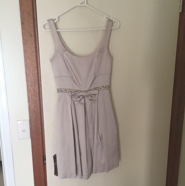 Pale Gold Dress