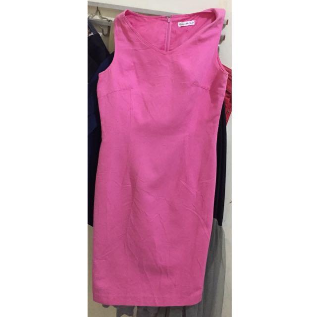 Pink Dress ❤️ Dress Merah Muda