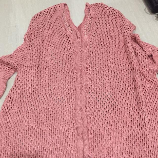 Pink Knitted Top