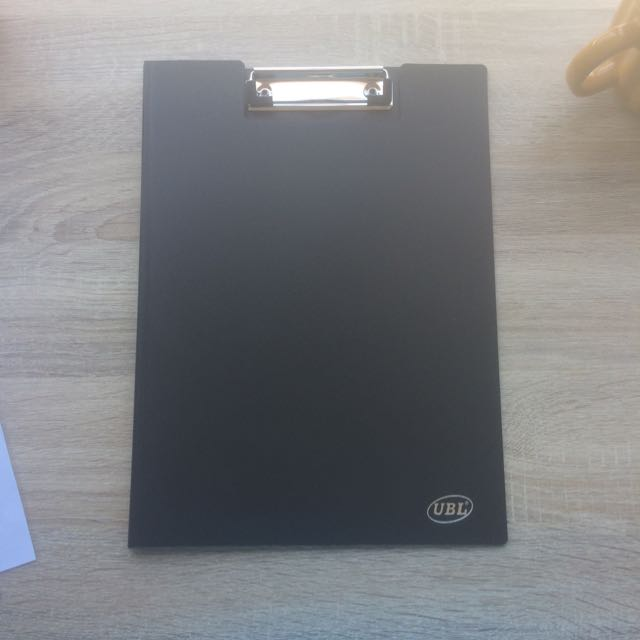 Plain Black Binder