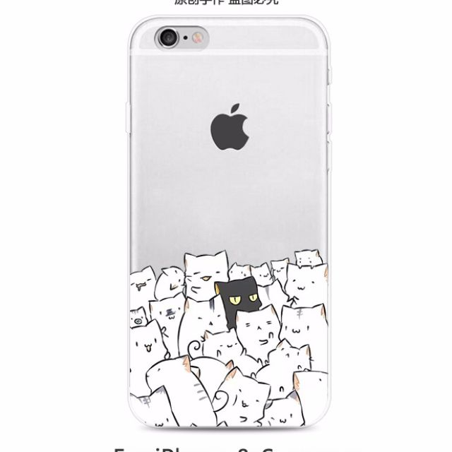 PO] 📱Cute Cuddly Cats Soft Case / HP Cover / HP Casing