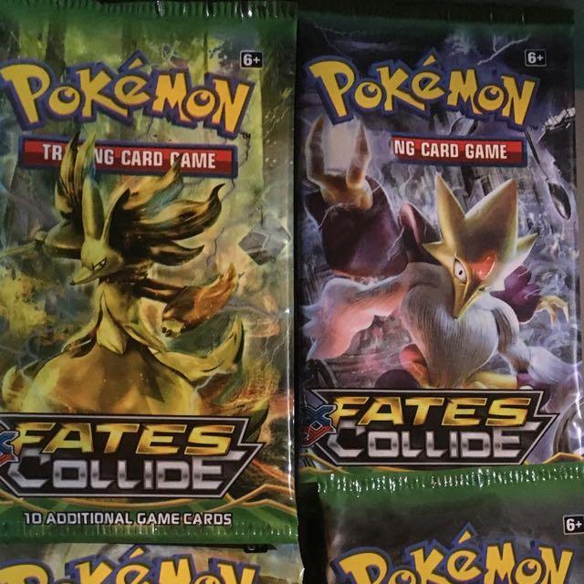 Pokemon Cards - Fates Collide
