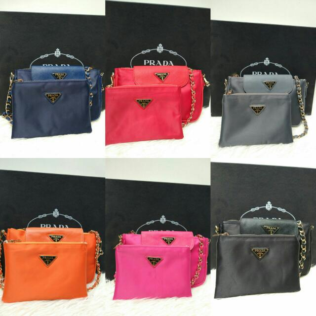 PRADA SET 2 IN 1