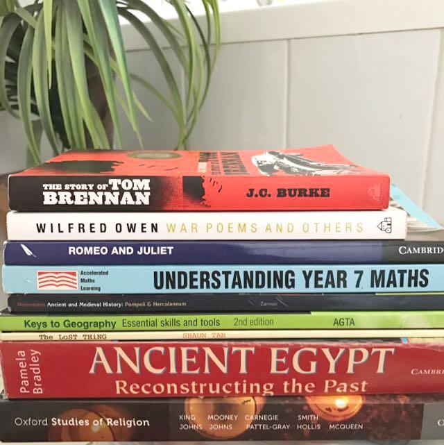 Preliminary/HSC Textbooks