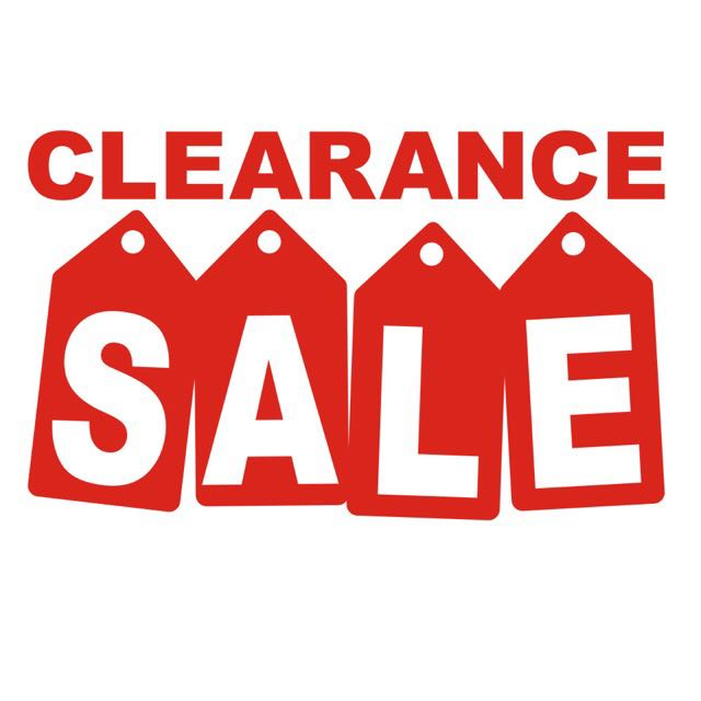 Price Reduced Clearance Sale!!!!!!! EVERYTHING MUST GOO!