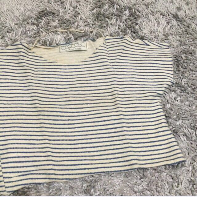 [REPRICE] Crop Top ZARA