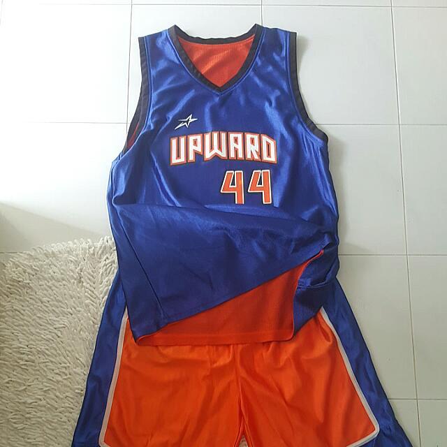 Reversible Basketball Jersey Set