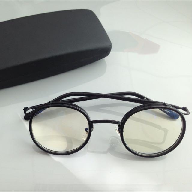 Rockafeller Glasses (kacamata bisa untuk lensa minus/plus/silinder/sunglass)