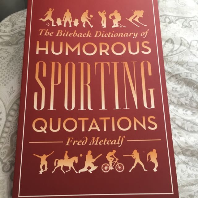 Sporting Quotations