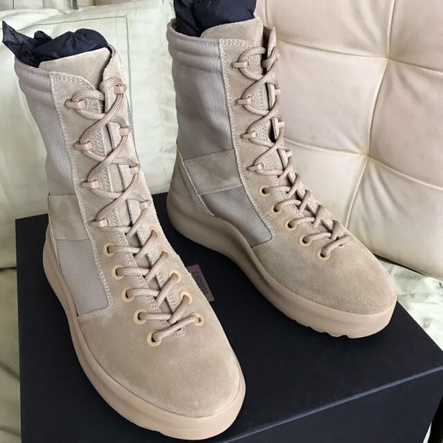 STEAL] Yeezy Military Boots Rock