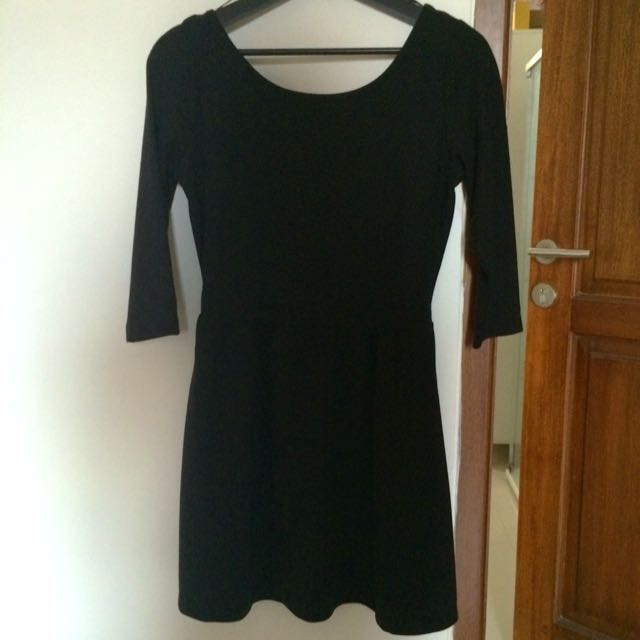 Stradivarius Little Black Dress
