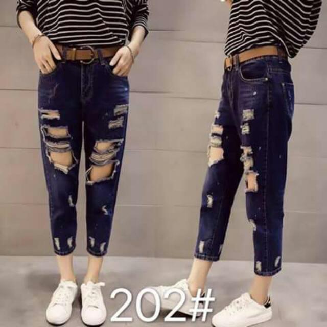 Tartterd Jeans