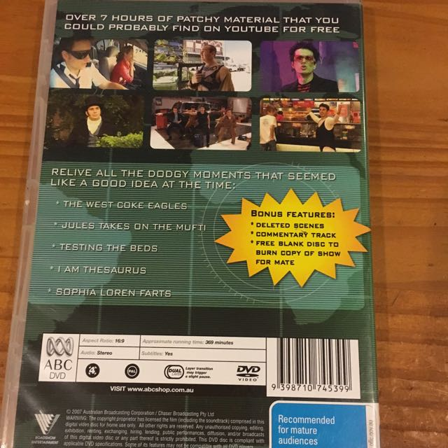 The Chasers War On Everything Season 2 DVD
