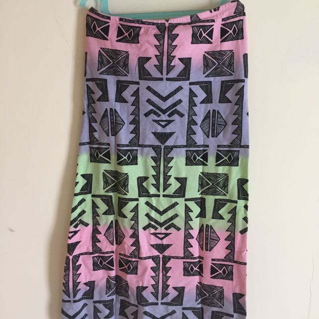Tribal Skirt From Topshop