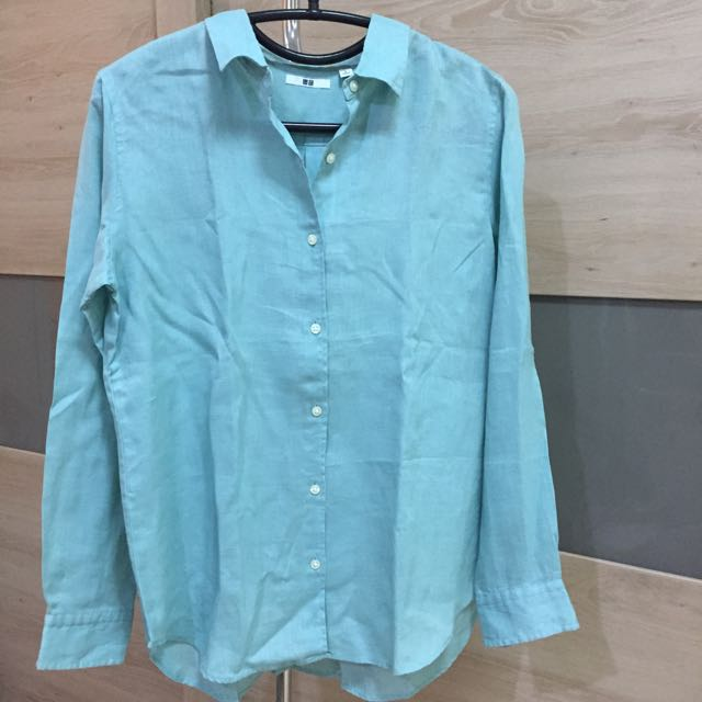 Uniqlo Women Shirt (tosca)