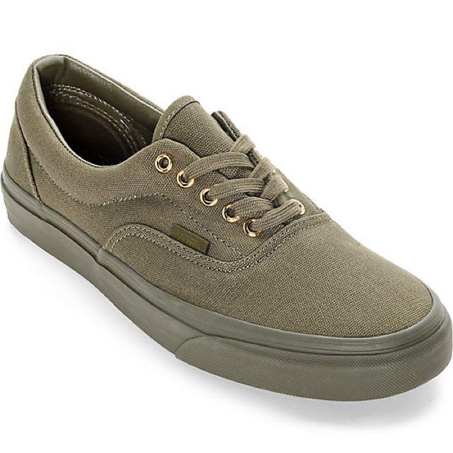 57a1314f4b0 Vans Era Olive Green