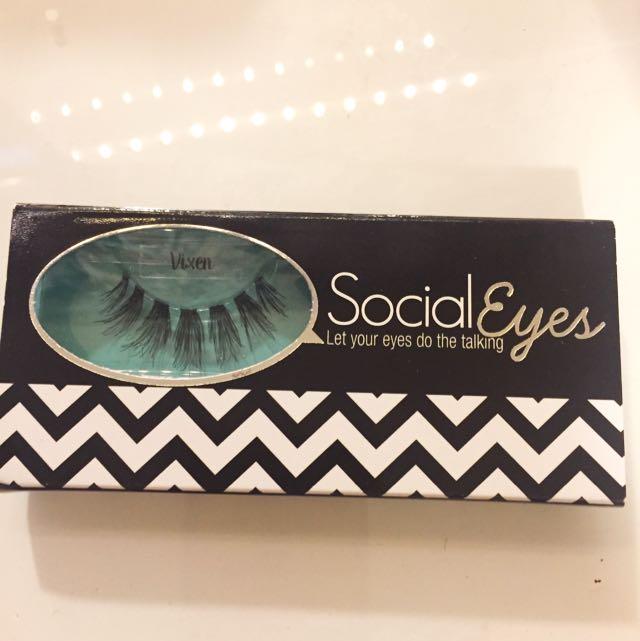 Vixen Eyelashes - Social Eyes