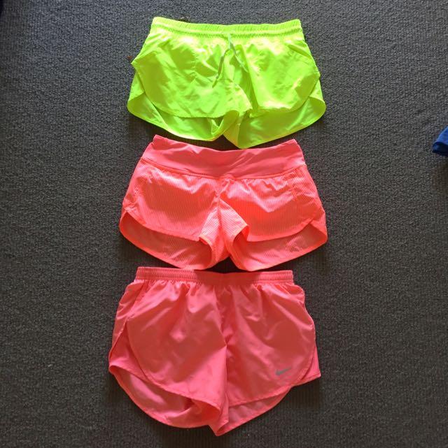 XS Women's Running Shorts