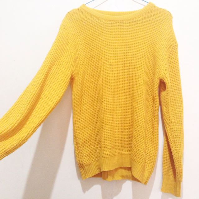 Yellow Knitwear