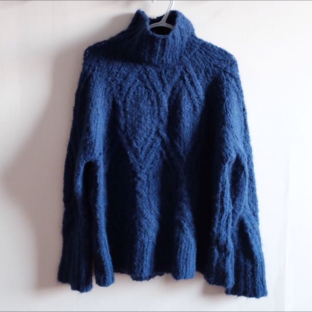 Zara Chunky High Neck Sweater