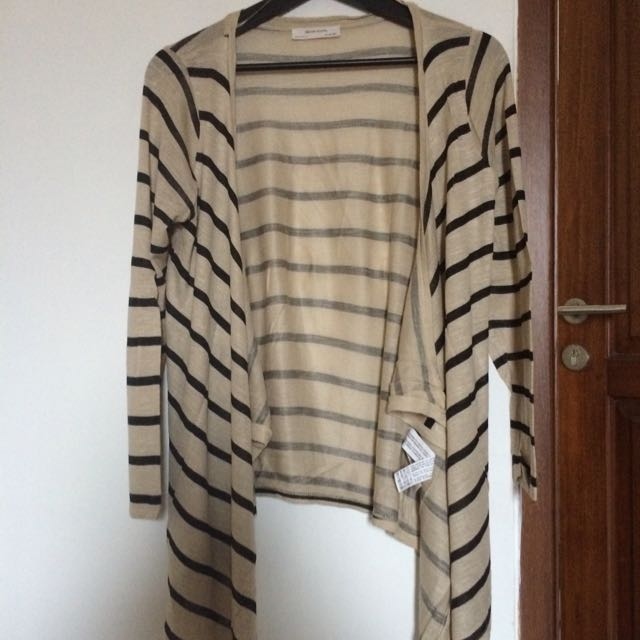 Zara Striped Cardigan