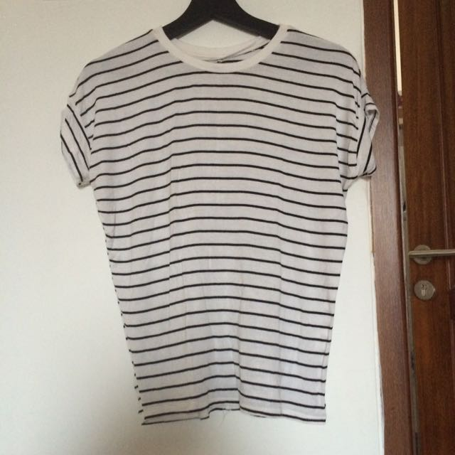 Zara Trafaluc Striped Tee
