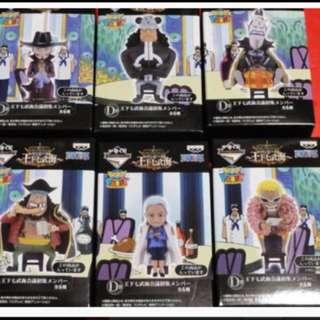ichiban kuji one piece pirates series