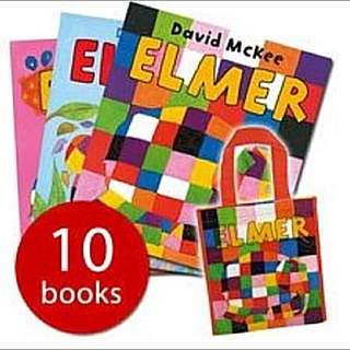 Elmer The Stripy Elephant Collection (10 Books)