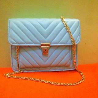 Blue Chain Bag Btm