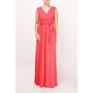 Elin Nursing Red Dress