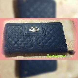 Sophie Paris blue ziparound wallet