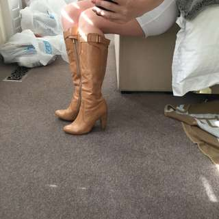 Tan Summer Boots Siren 7.5