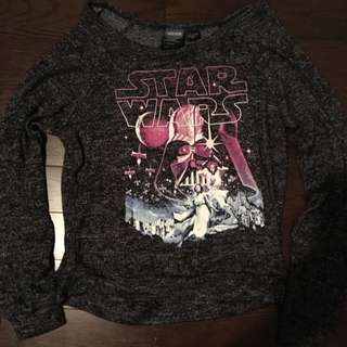 Authentic Star Wars Crop Sweater