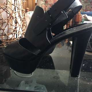 Charles & Keith Strap Around Heels
