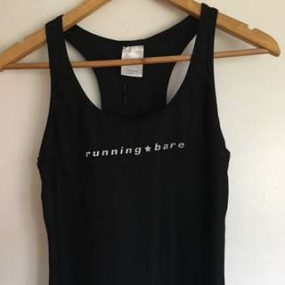 Running Bare Gym Top Size 10