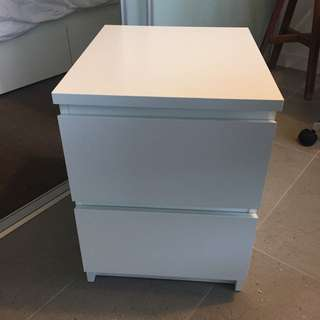 IKEA Malm Bedside unit