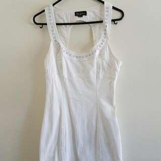 Blue Juice White Dress size 6